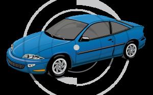 Qual é a área de cobertura do rastreador para carros?